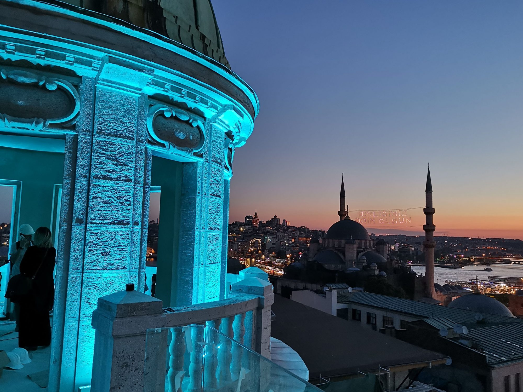 AXALIGHT SkyLine Istanbul