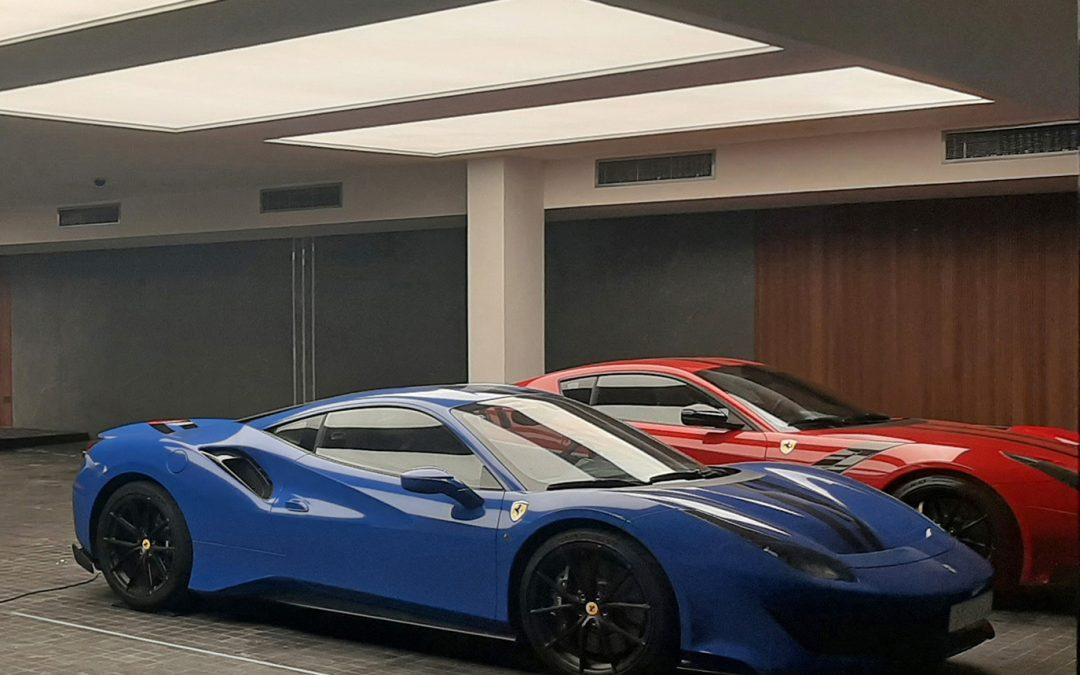 Private Villa Parking